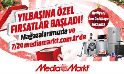 MediaMarkt'ta Yılbaşına Özel Fırsatlar Başladı!