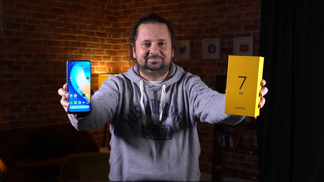 Realme 7 Pro Pil Testi