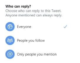 Twitter, Tweet Yanıtlarını Yalnızca Takipçilerle sınırlandırmayı test ediyor