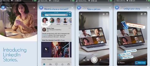 LinkedIn, Hikayelerinde Reklam Test Etmeye Başlıyor