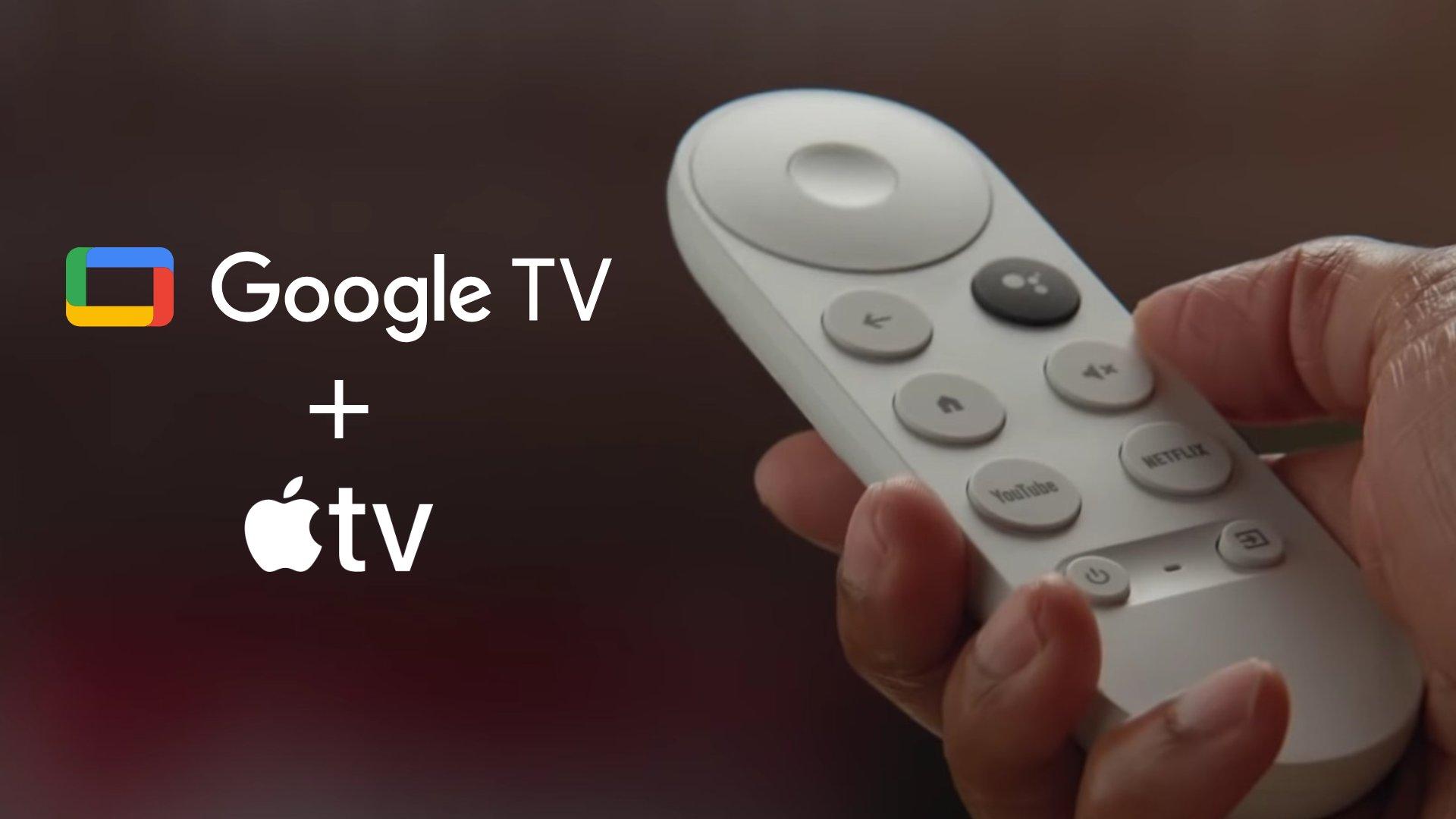 Apple TV, Google TV ile Chromecast'lere geliyor