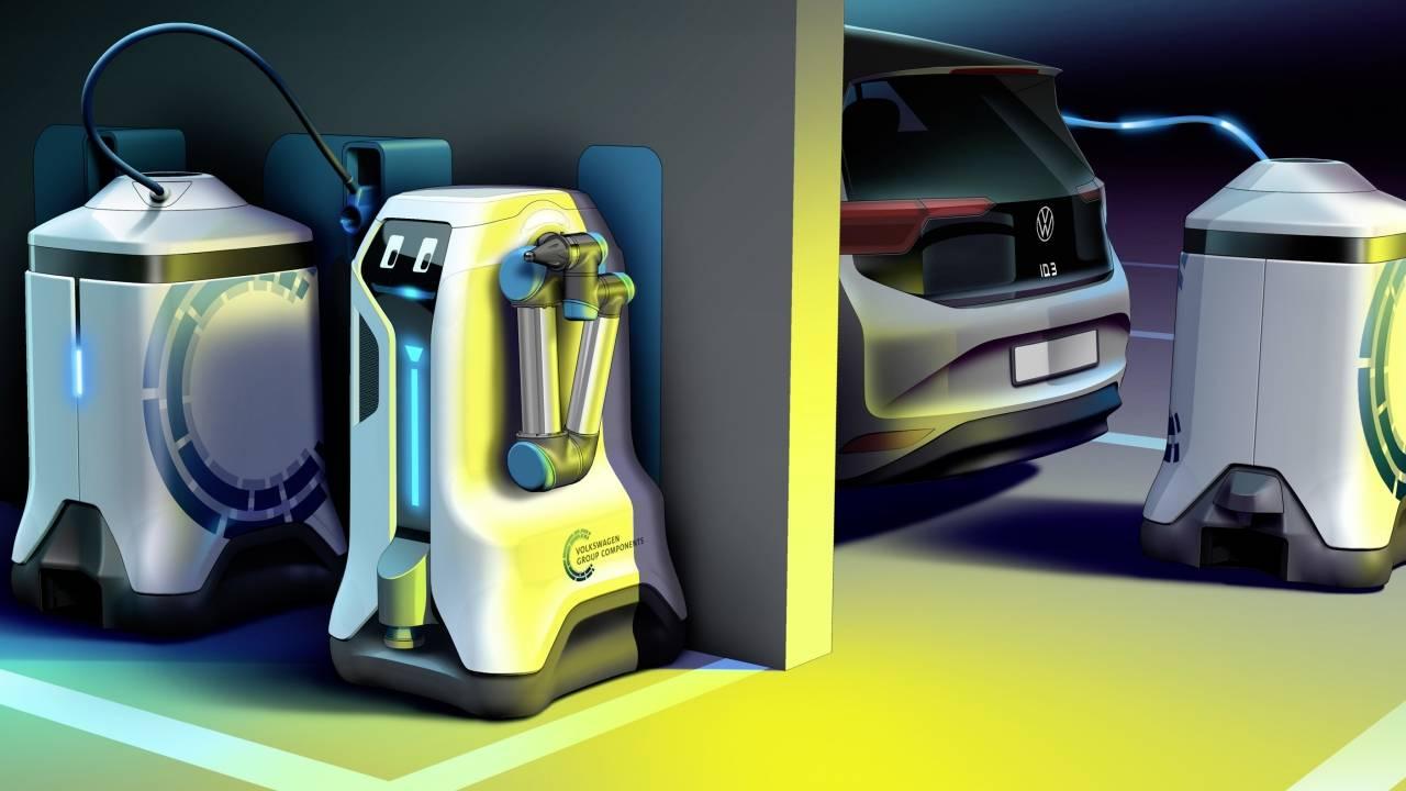 volkswagen, vw, elektrikli araç, mobil istasyon
