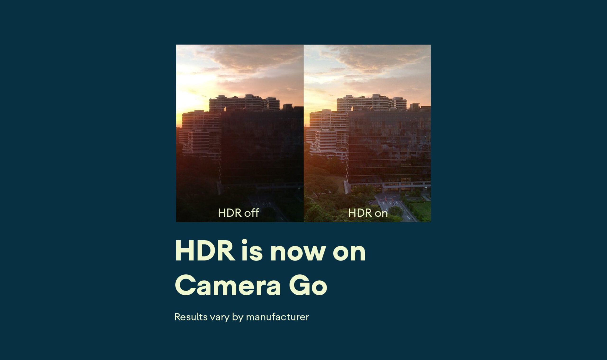 Google Camera Go HDR