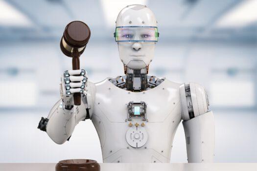 Robot avukat kendi suçu ile başa çıkmaya çalışıyor