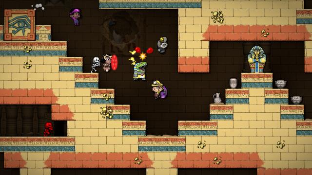 Spelunky oyunları önümüzdeki yaz Nintendo Switch'e gelecek