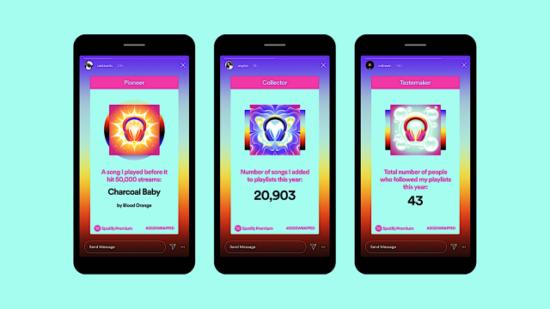 Spotify, 2020 dinlemelerinizi hikaye formatında sunuyor