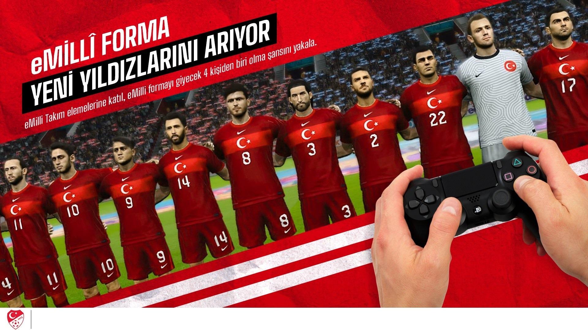 eMilli Takım FIFA ve PES seçmeleri