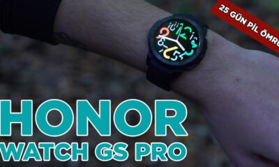 Honor Watch GS Pro | 25 gün pil ömrü, çift GPS!
