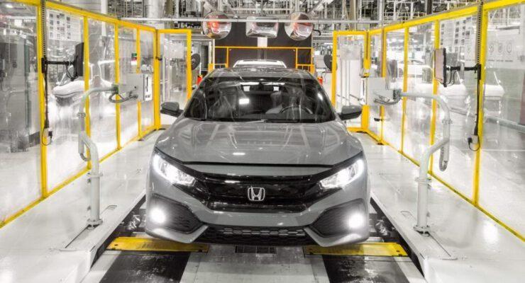 Honda üretim