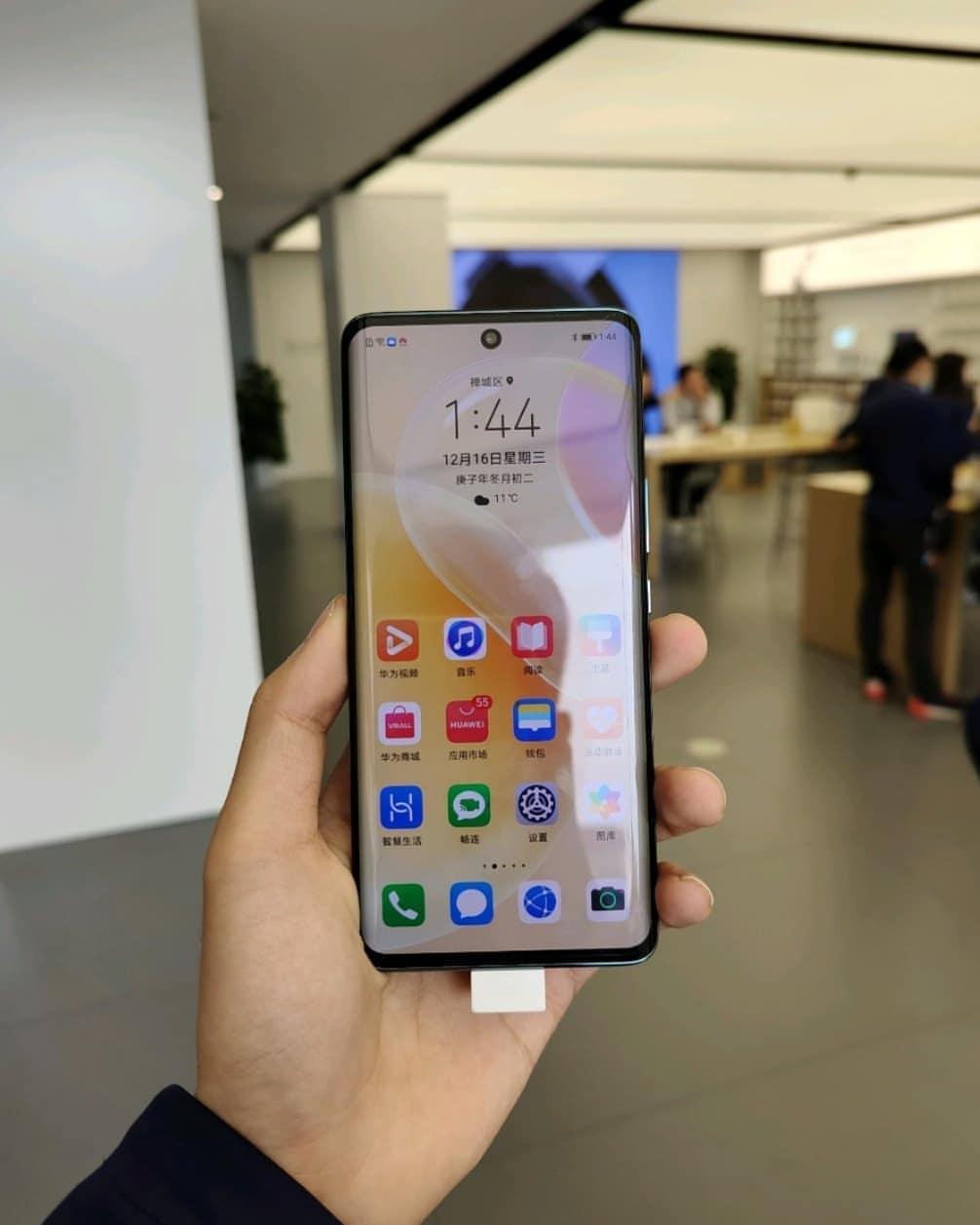 Huawei Nova 8 ekran
