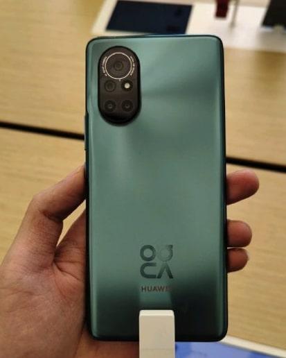 Huawei Nova 8 tasarımı