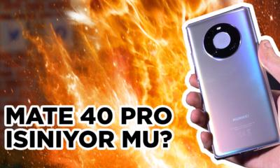 MATE 40 PRO ISINIYOR MU? | 60 dk 4K 60 fps video kaydı ile denedik!