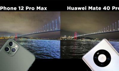 iPhone 12 Pro Max vs. Huawei Mate 40 Pro kamera karşılaştırma