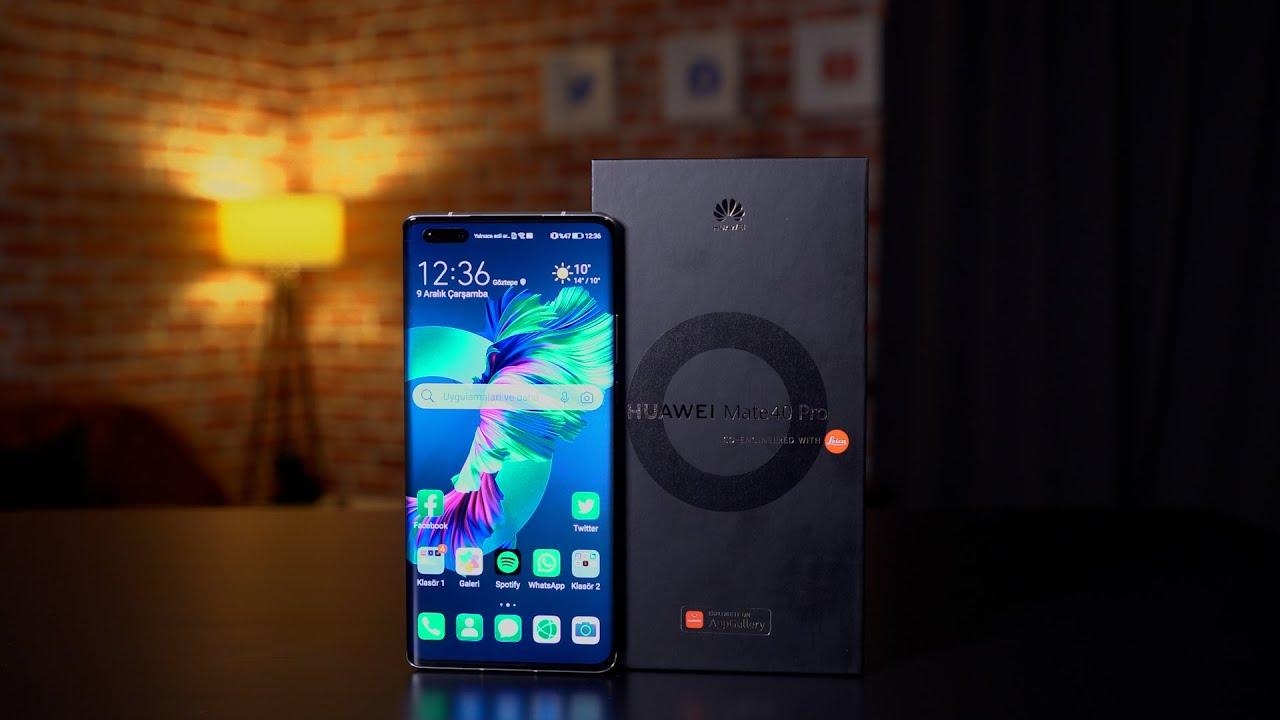 HUAWEI MATE 40 PRO ön inceleme   Huawei'nin yeni kralı ofiste!