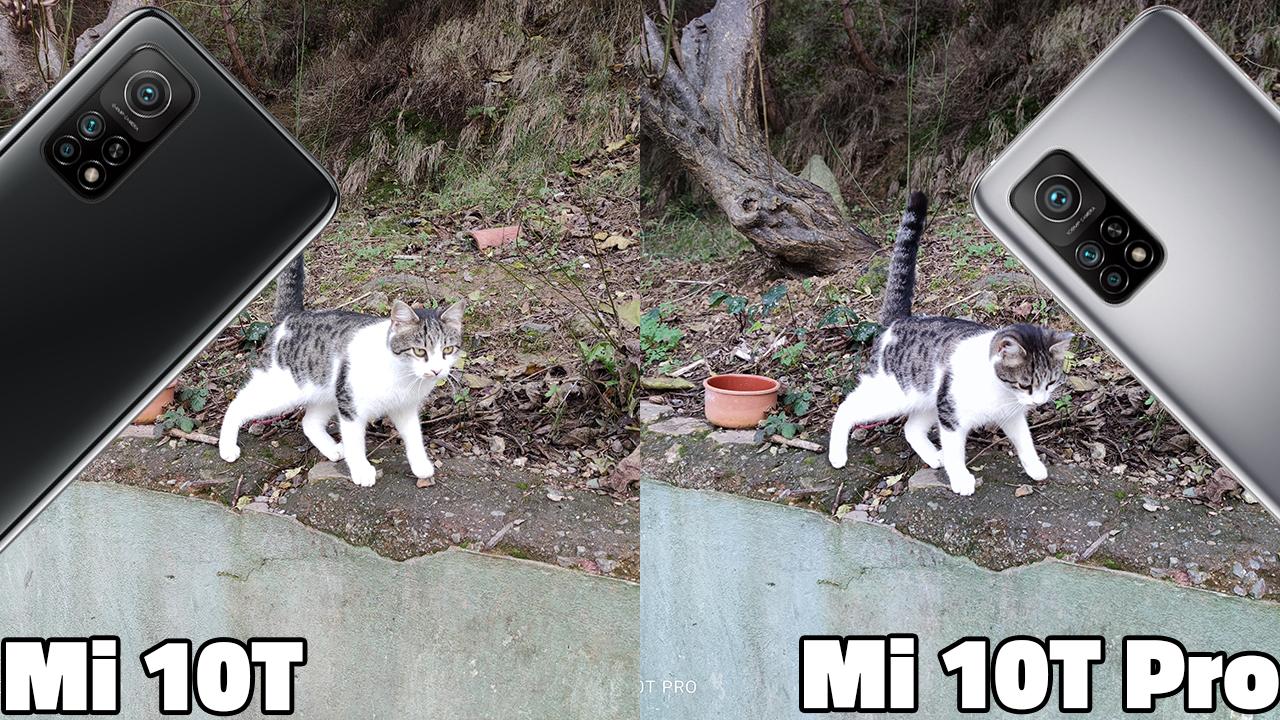 Mi 10T Pro vs. Mi 10T kamera karşılaştırma