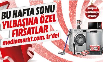 Bu Hafta Sonu Yılbaşına Özel Fırsatlar MediaMarkt'ta