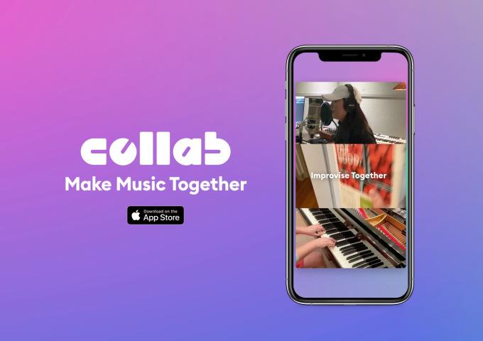 Müzik yapma uygulaması Collab