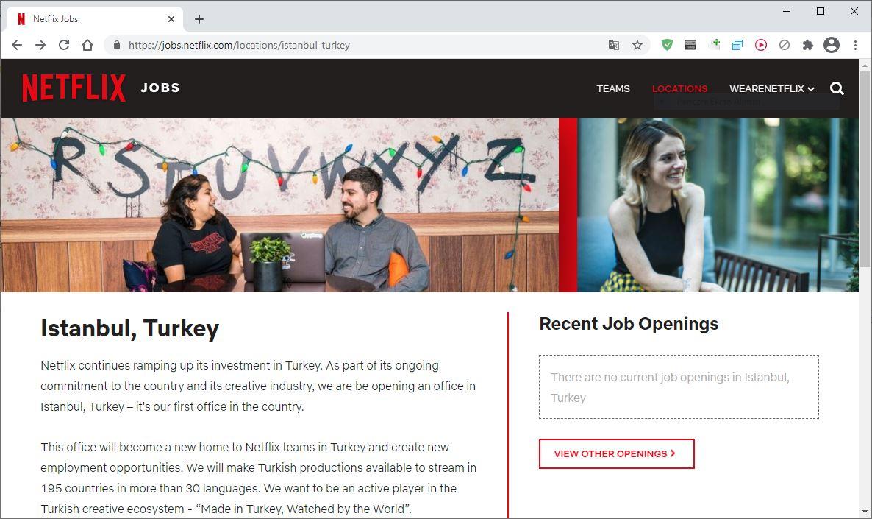 Netflix İstanbul Türkiye ofisi