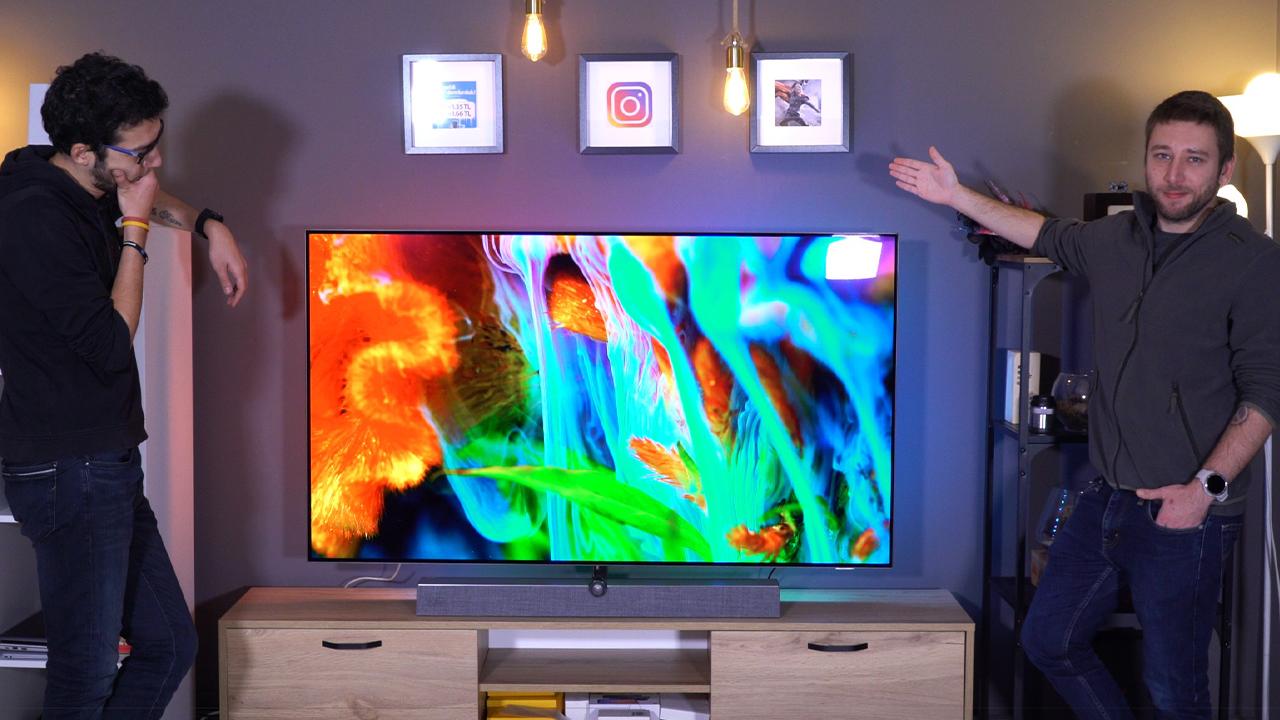 Tüm ofisin hayran kaldığı televizyon! | Philips 65OLED935 incelemesi