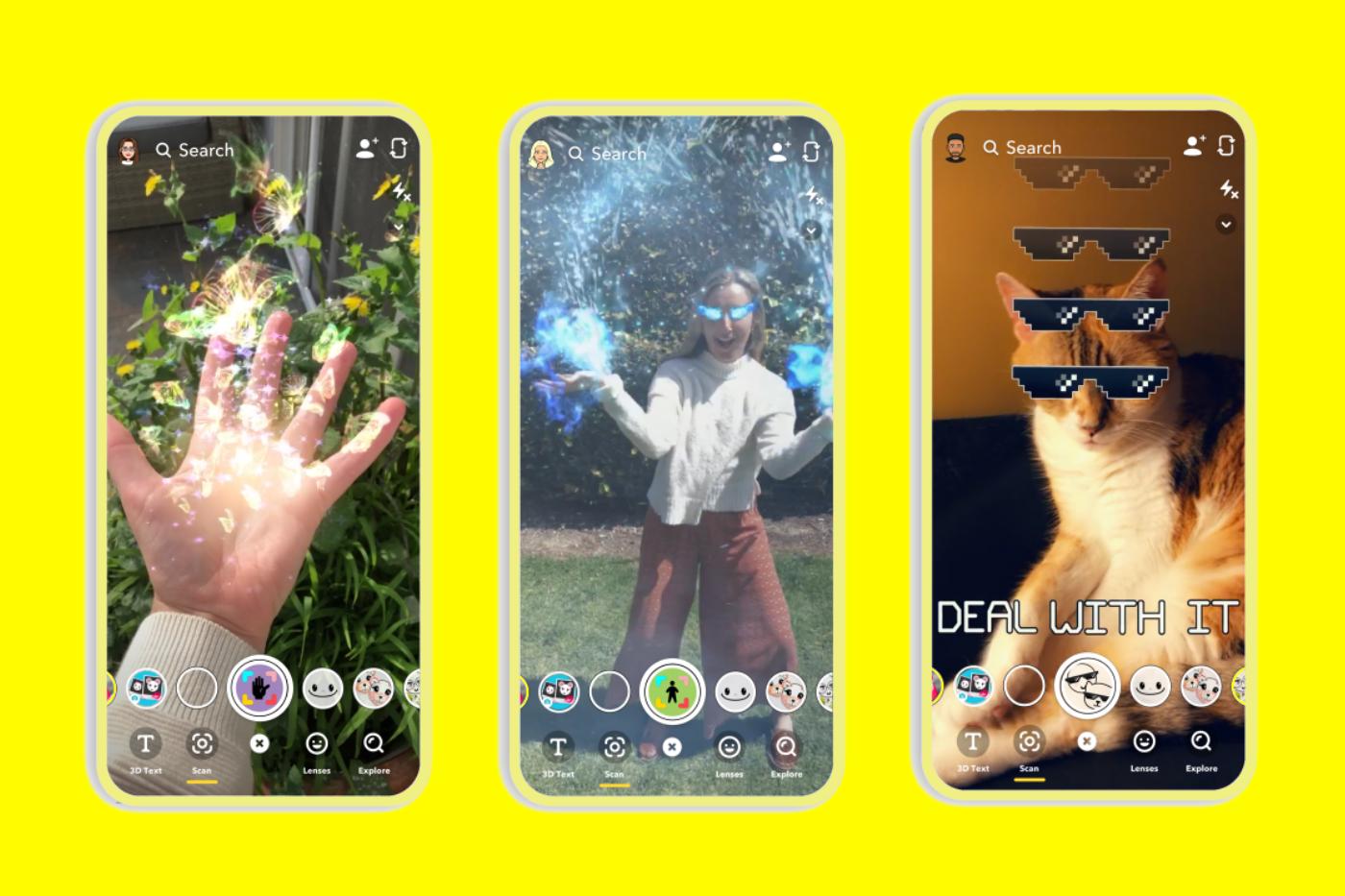 Snapchat, 3,5 Milyon Dolarlık Yeni AR İçerik Oluşturucu Fonunu Duyurdu