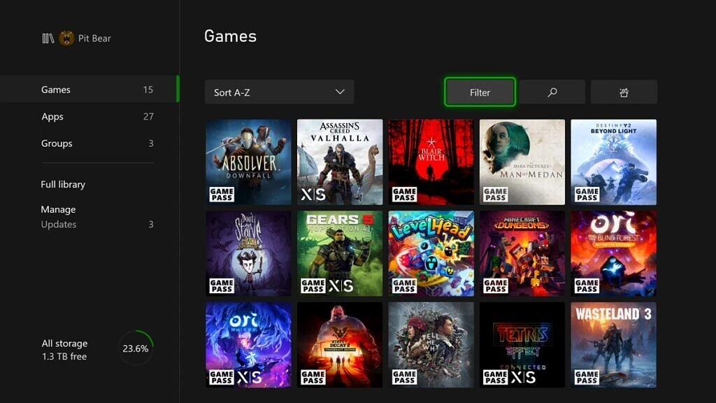 Xbox Kasım 2020