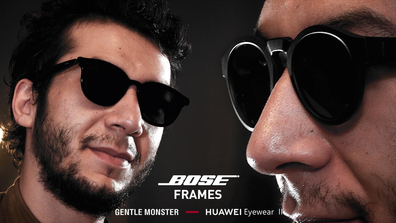 AKILLI GÖZLÜK KIYASLAMASI | Huawei Eyewear II vs. Bose Frames