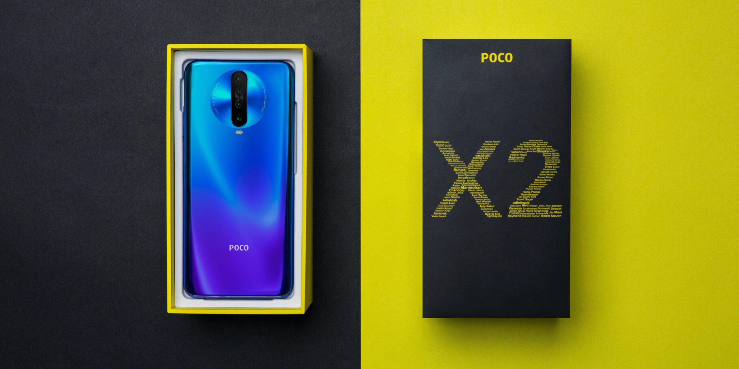 Poco X2 Android 11