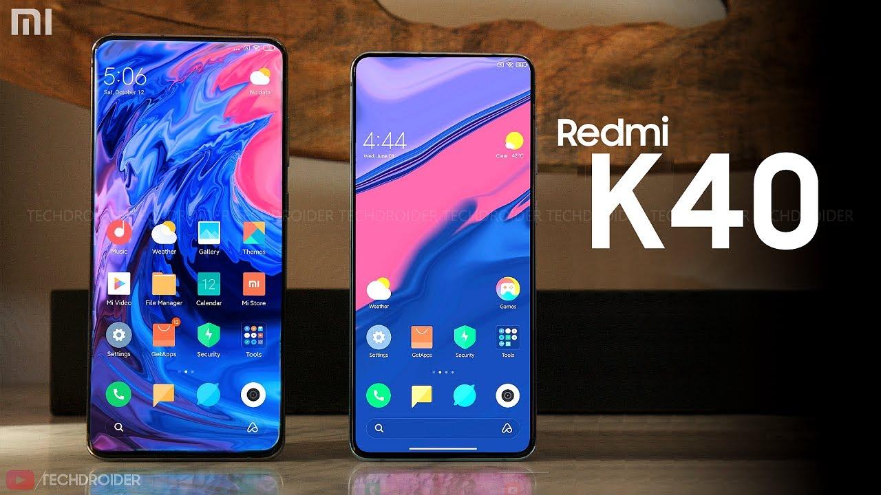 Redmi K40 ve K40 Pro ile ilgili görsel sonucu