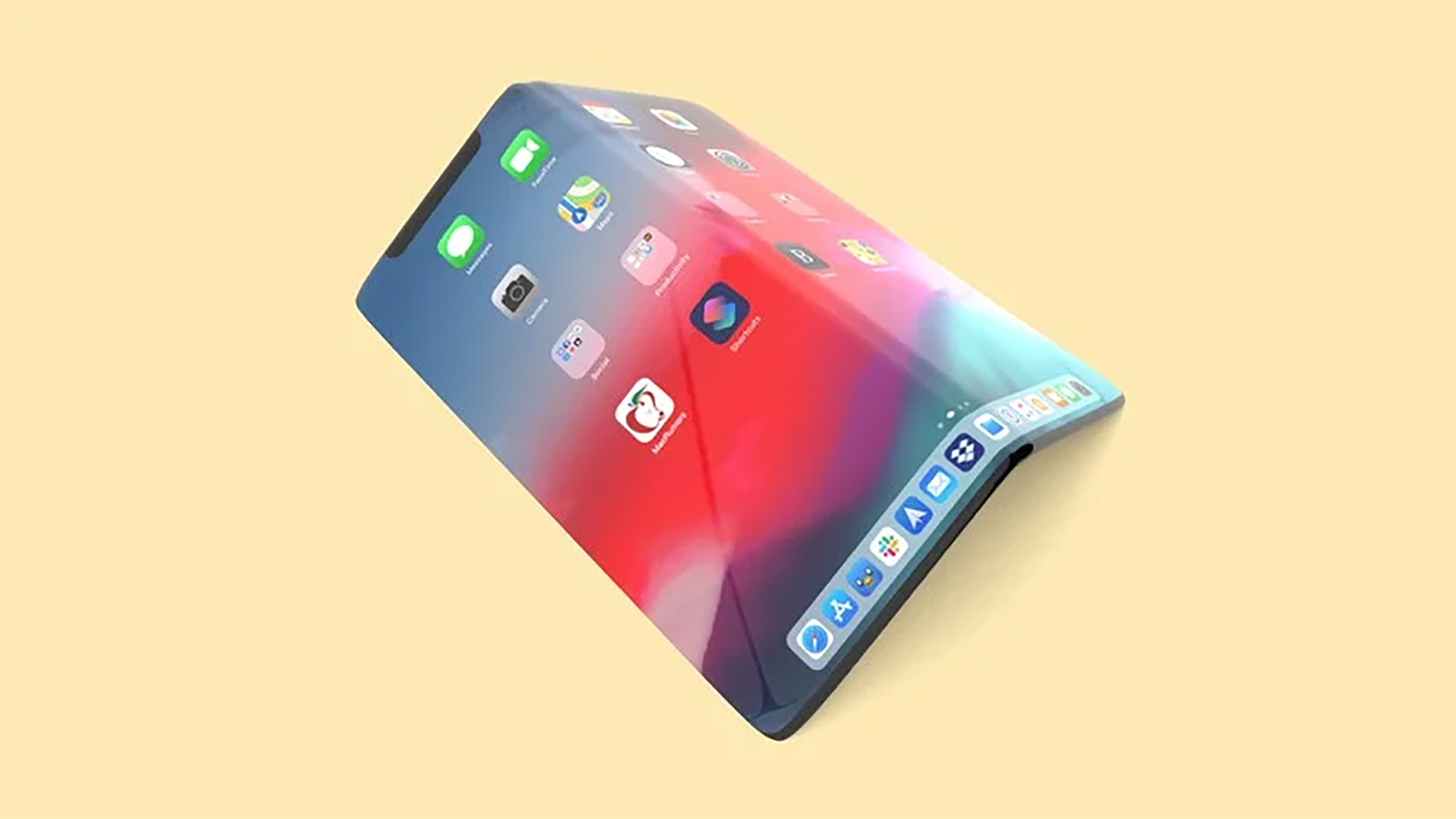 katlanabilir iphone