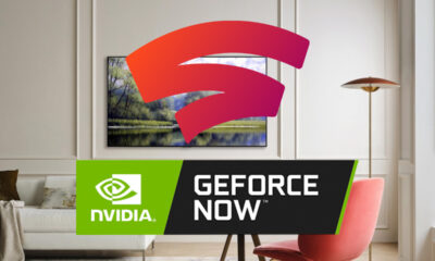 LG 2021 TV Stadia GeForce Now