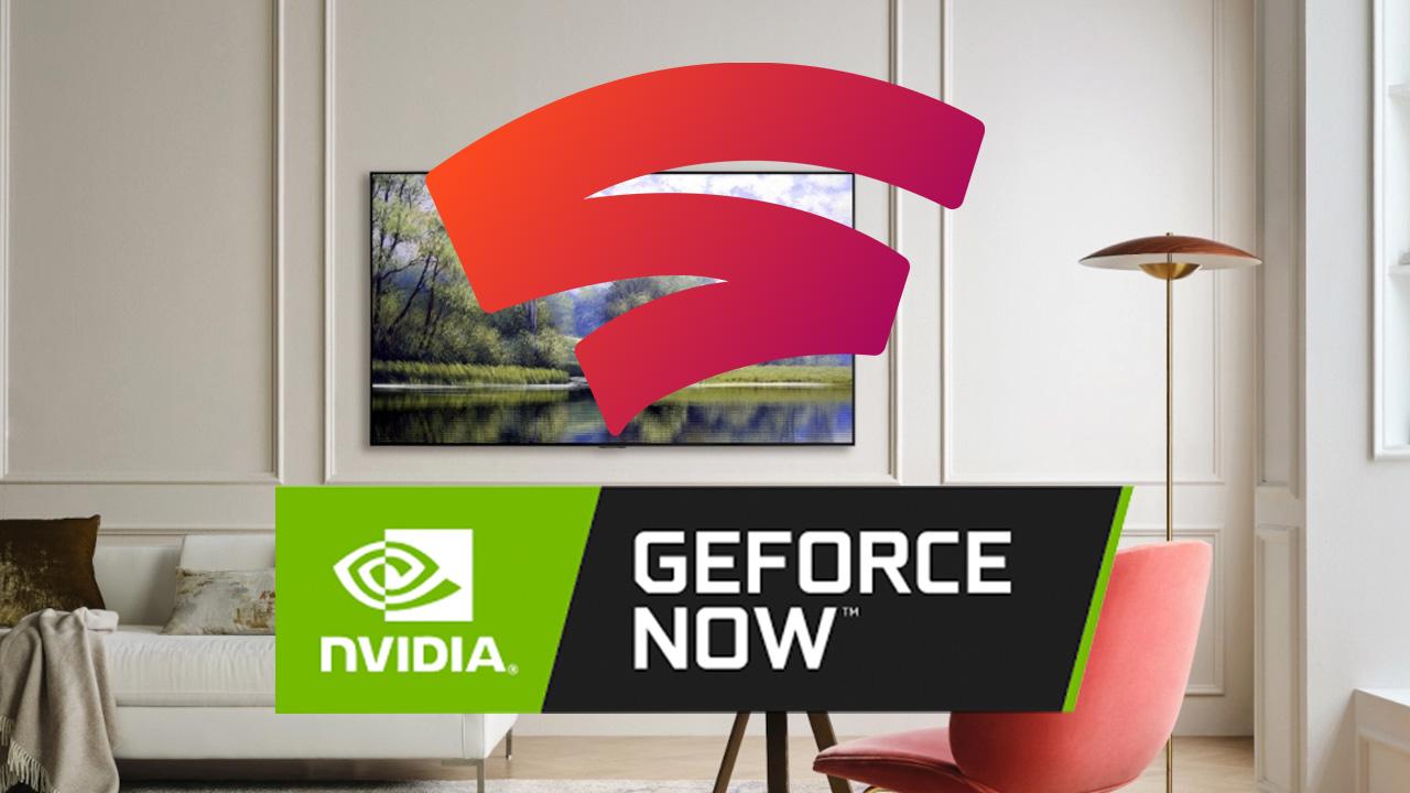 LG 2021 TV Stadia GeForce Now