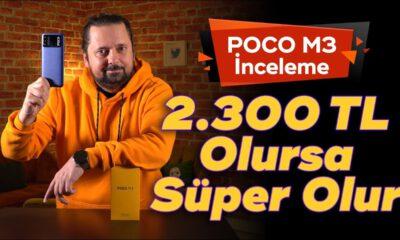 2.300 TL Olursa Süper Olur 👍👍👍 | POCO M3 İnceleme