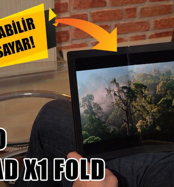 DÜNYANIN İLK KATLANABİLİR EKRANLI BİLGİSAYARI! | Lenovo ThinkPad X1 Fold