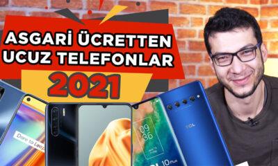 ASGARİ ÜCRET İLE ALINABİLECEK TELEFONLAR!