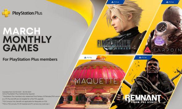 PlayStation Plus Mart 2021