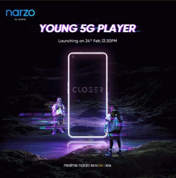 Realme Narzo 30