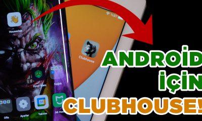 ANDROID İÇİN CLUBHOUSE!   Houseclub uygulamasını denedik!