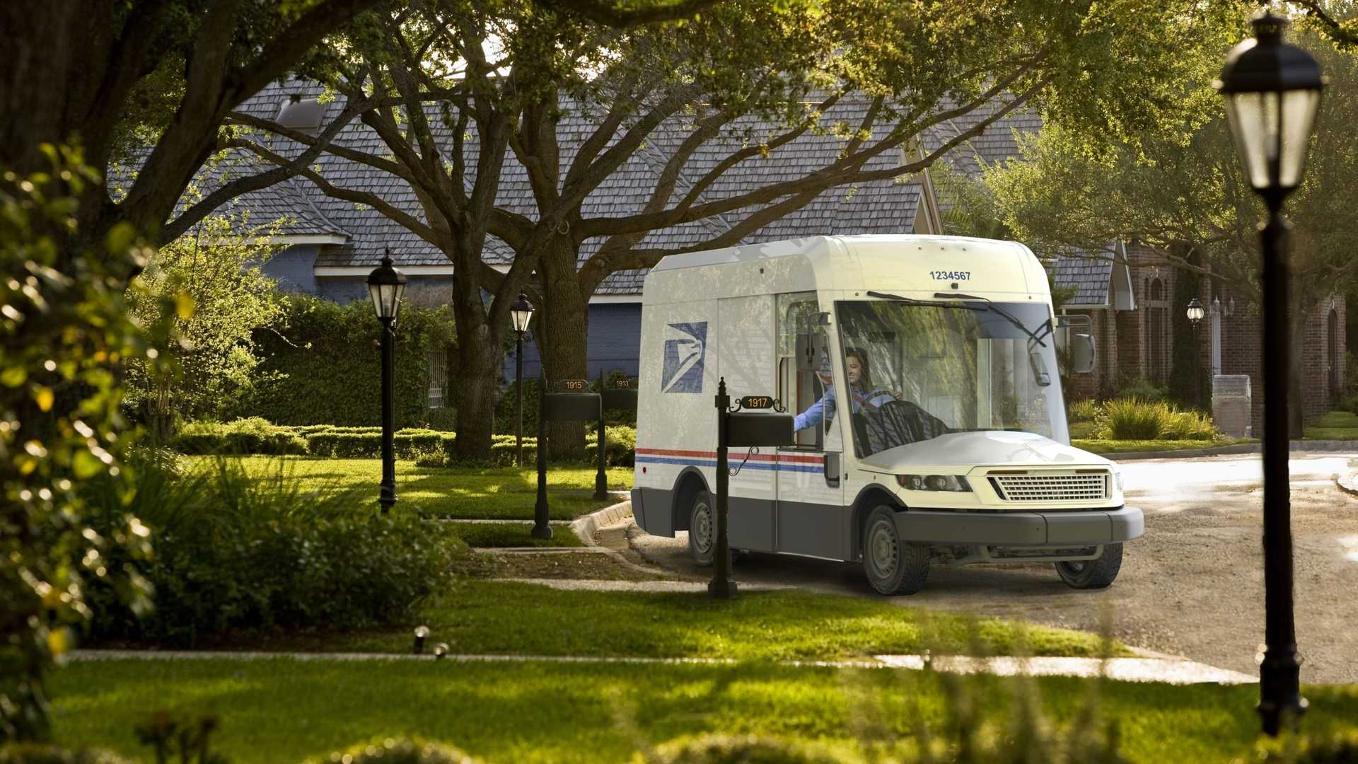 2021 ABD Posta Servisi (USPS) Aracı