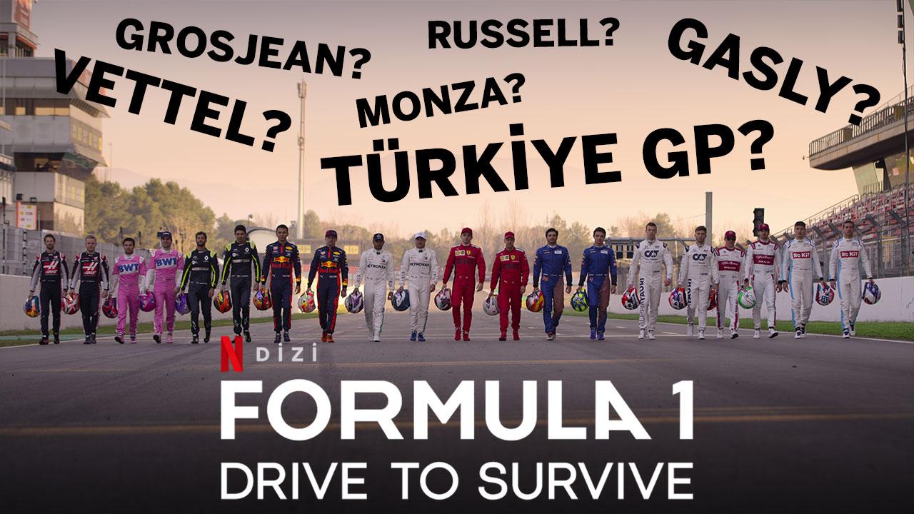 Drive to Survive 3. Sezon Değerlendirmesi | Türkiye GP var mı? Beklentileri karşılar mı?