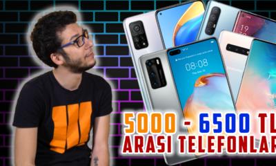 5000 - 6500 TL arası en iyi akıllı telefonlar (2021)