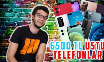 6500 TL üstü en iyi akıllı telefonlar (2021)