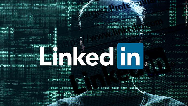 Hacklenen LinkedIn hesapları
