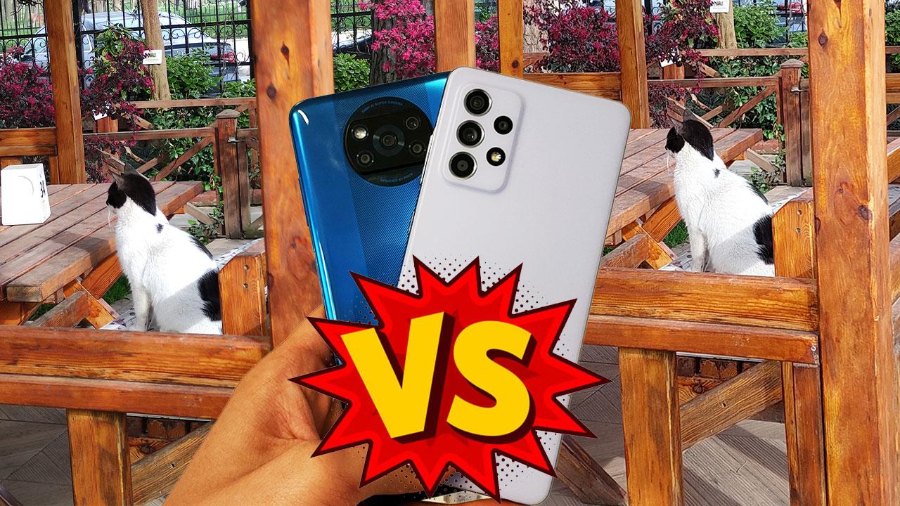 Samsung Galaxy A52 vs POCO X3 NFC | Kamera karşılaştırma!