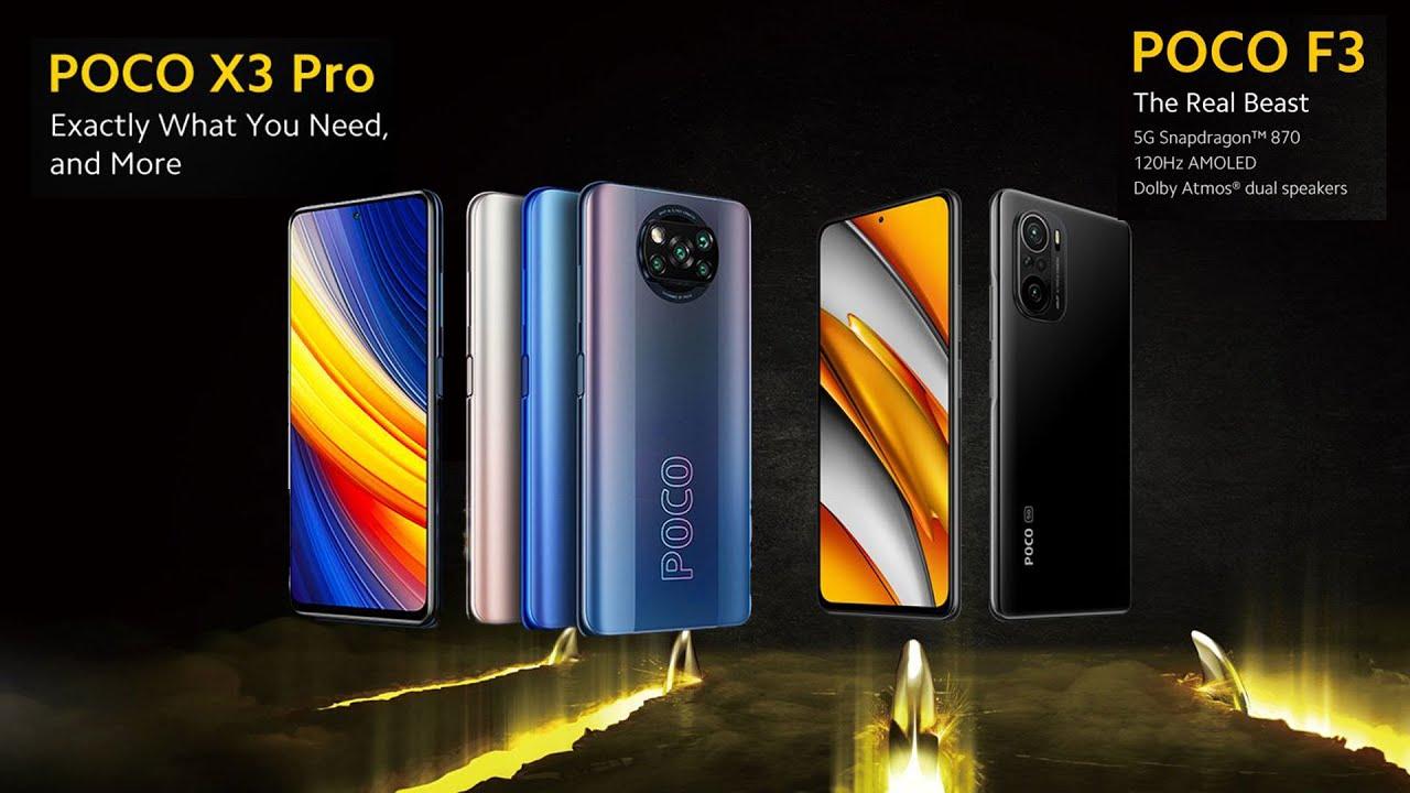 POCO F3 ve X3 Pro