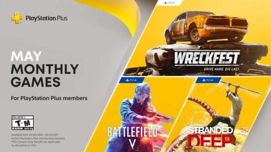 PlayStation Plus Mayıs 2021