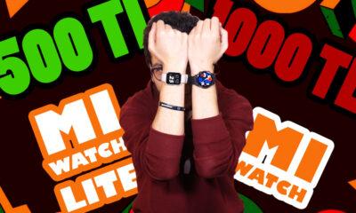 Xiaomi Mi Watch vs. Mi Watch Lite | 1000 TL'lik saat ile 500 TL'lik saat farkı!