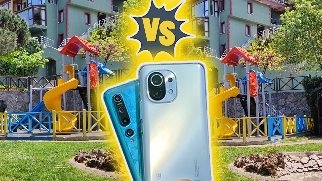 Xiaomi Mi 11 vs Xiaomi Mi 10 kamera karşılaştırma! | Baba ve oğul