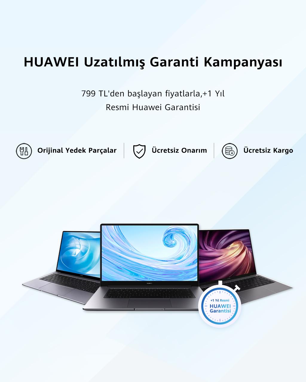 Huawei uzatılmış garanti