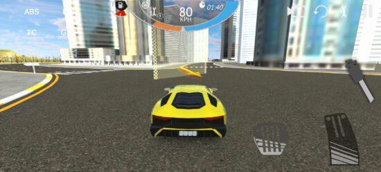 complete car driving simulator
