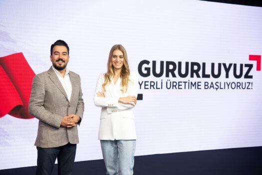 TCL_Communication_Türkiye_Ülke_Müdürü_Serhan_Tunca_ve_TCL_Communication_Türkiye_Pazarlama_Müdürü_Arzu_Topuz_